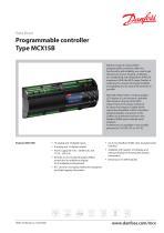 Programmable controller Type MCX15B