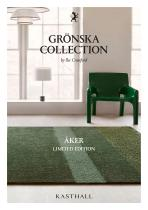 GRÖNSKA COLLECTION by Ilse Crawford - ÅKER LIMITED EDITION