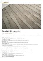 Wool & silk carpets