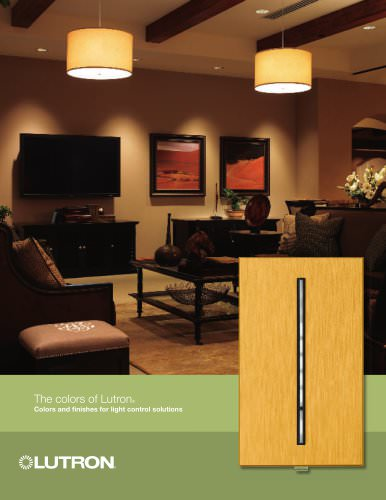 Colors of Lutron