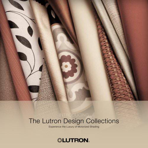 Lutron Design Collections brochure