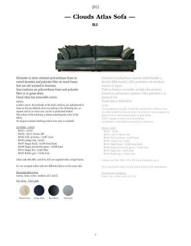 Clouds Atlas Sofa