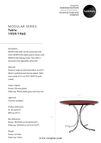 MODULAR SERIES_TABLE