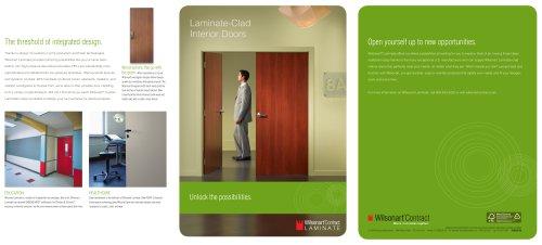 Laminate-Clad Interior Doors