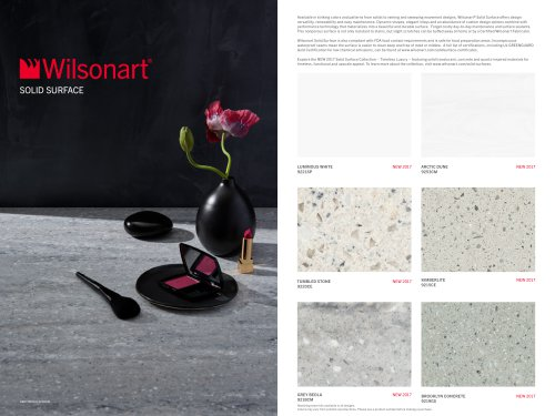 Solid Surface Brochure