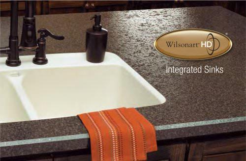 Wilsonart® HD™ Intergrated Sinks Brochure