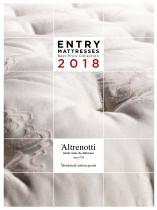 Altrenotti_MATERASSI ENTRY Best price collection 2018 ITALIA