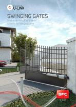 SWINGING GATES - Electromechanical automation systems for swinging gates