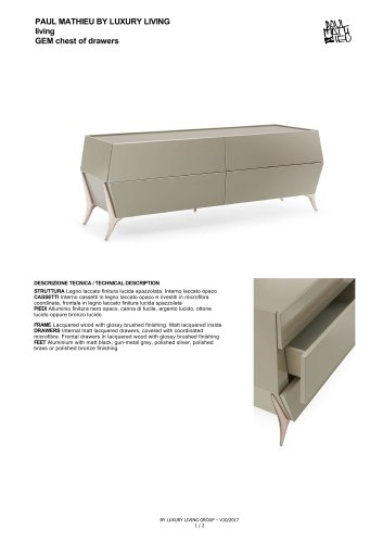 GEM CHEST OF DRAWERS
