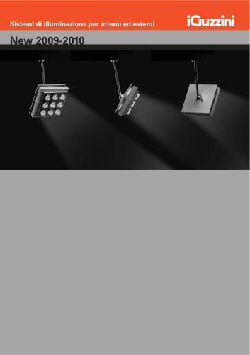 New 2009-2010 - Sistemi di illuminazione per interni ed esterni