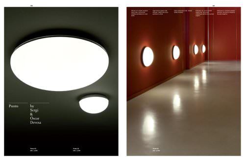 Ceiling lamps:Punto