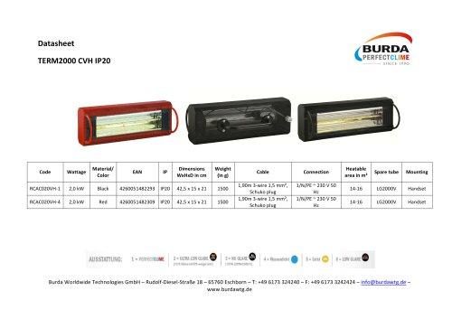 TERM2000 CVH IP20_RCAC020VH