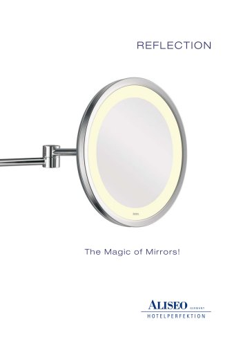 REFLECTION Hotel Cosmetic mirrors