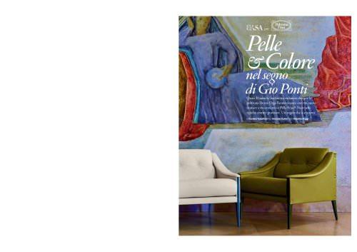 Pelle & Colore nel segno di Gio Ponti