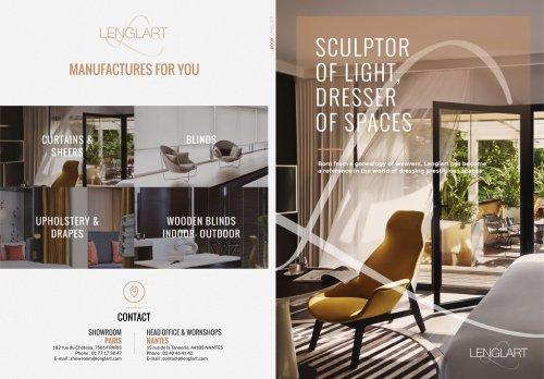 Sculptor of Light, Dresser of Spaces