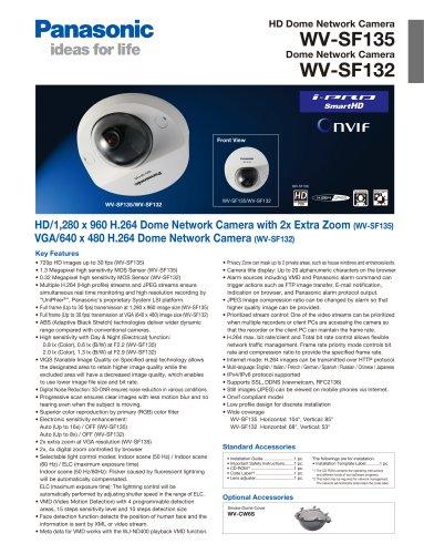 WV-SF135 / WV-SF132