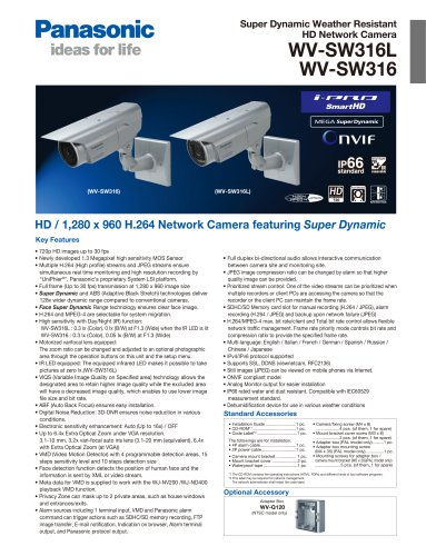 WV-SW316L / WV-SW316