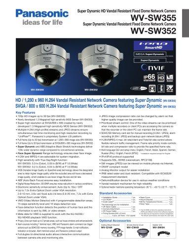 WV-SW355 / WV-SW352