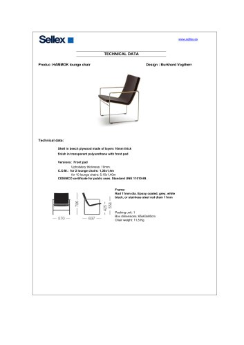 HAMMOK lounge chair