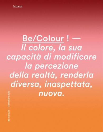 Foscarini_News_Be-Colour_2018