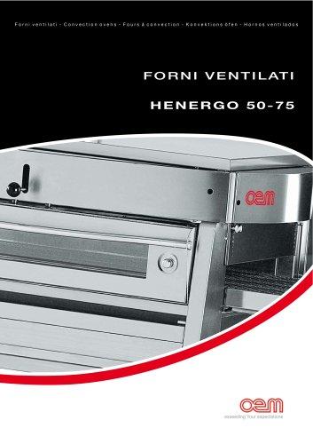 Forni Ventilati serie HENERGO 50-75