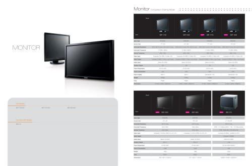 Catalog Monitors