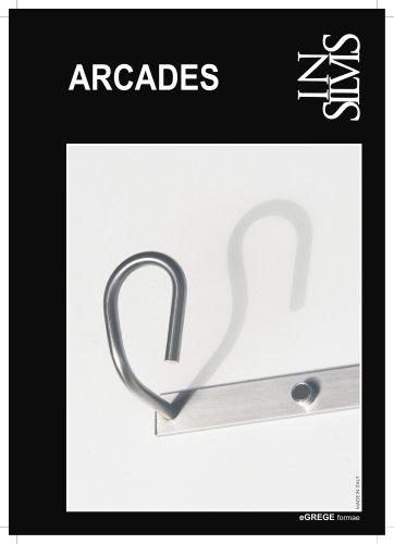 ARCADES, appendiabiti parete