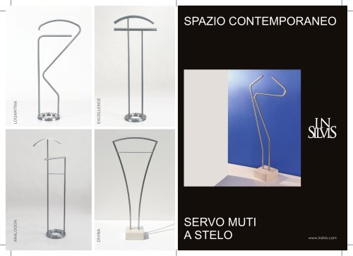 Insilvis Contemporary Space - Servo muti a Stelo