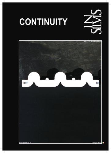 Insilvis CONTINUITY 3. appendiabiti da parete