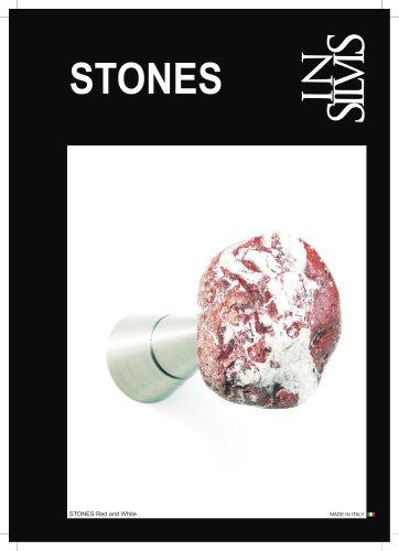 Insilvis STONES, collezione di appendiabiti da parete