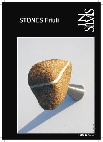Insilvis STONES Friuli, collezione di appendiabiti da parete