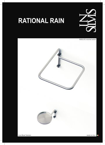 RATIONAL RAIN, portaombrelli da parete
