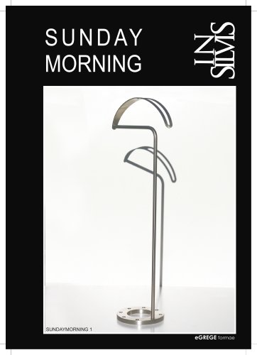 SUNDAY MORNING, servo muto a stelo e a parete