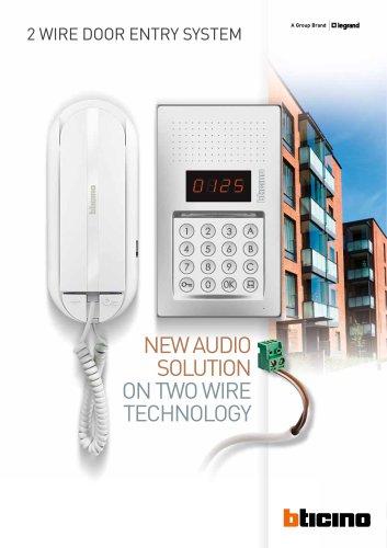 New audio solution