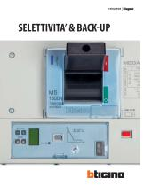 SELETTIVITA' & BACK-UP