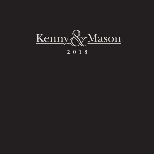 Inspiration brochure 2018