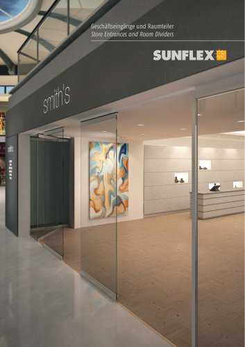 Store Entrances and Room Dividers