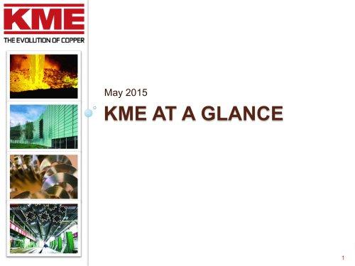 KME's corporate presentation