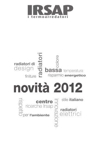 Catalogo Novembre 2012