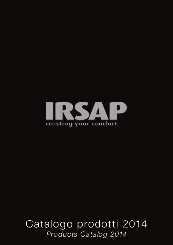 Irsap Catalogue 2014