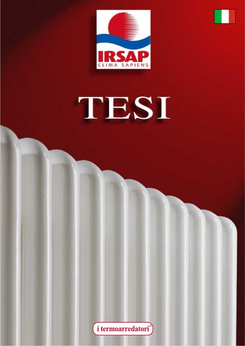 TESI - IRSAP - Catalogo PDF | Documentazione | Brochure