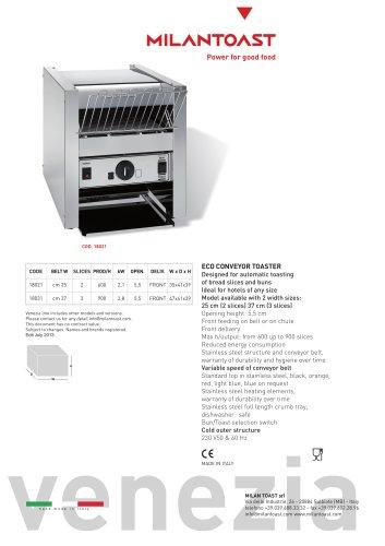 Eco conveyor toaster 18021