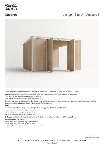 Cabanne    design : Bestetti Associati