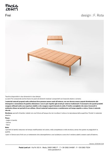 Frei - Tavolino