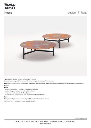 Nesso - Tavolini