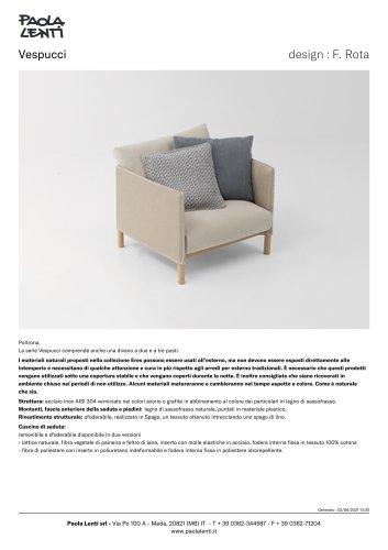 Vespucci    design : F. Rota