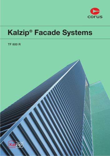 Kalzip Facade Systems, TF 800 R