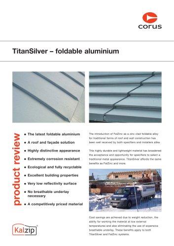 Titansilver - Foldable aluminium