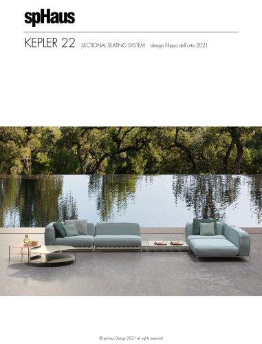 KEPLER 22 sistema modulare di sedute