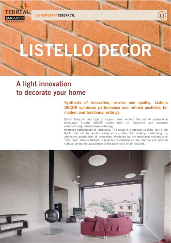 Listello Decor